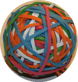 Rubber Band Ball 1